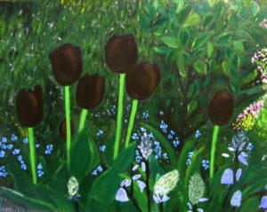 Tulips by Marjorie McLean
