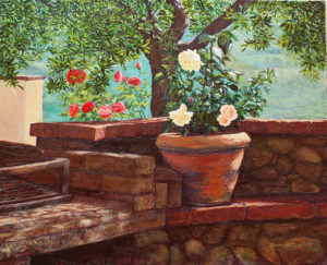 Tuscany: June Morning by Susan McClure
