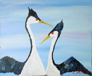 Two Birds by Edward Henry