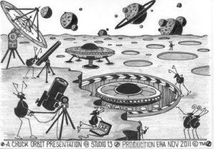 UFO by Chuck Orbit