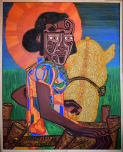 The Daughter of Africa by The Masked Identity