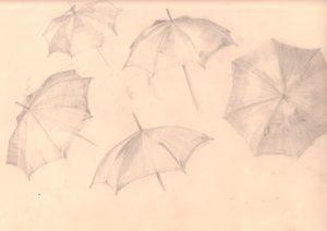 Umbrella study by blodwyn jones