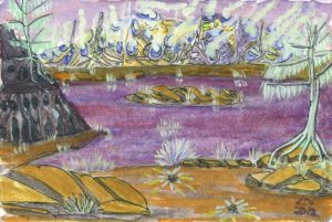 untitled__purple_lake_ by Lillian D French