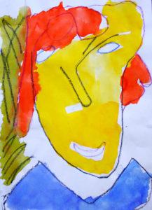 Faceless by Valerie-Ann Baker