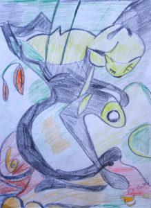 Reptilian by Valerie-Ann Baker