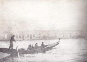 venice fog by claire Brennan