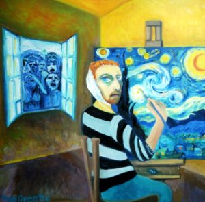 Vincent in the Yellow House by Maureen Oliver