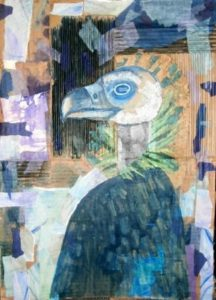 Portrait of the Artist as a Cinereous Vulture by The Price of Oil