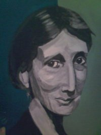 Virginia Woolf by Verity Worthington
