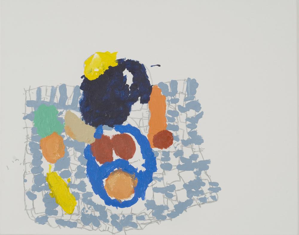 13554 || 3028 || Still Life on Checkered Cloth || £250 || 5668