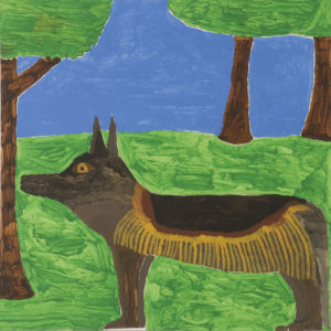 German Shepherd by Self-Portrait
