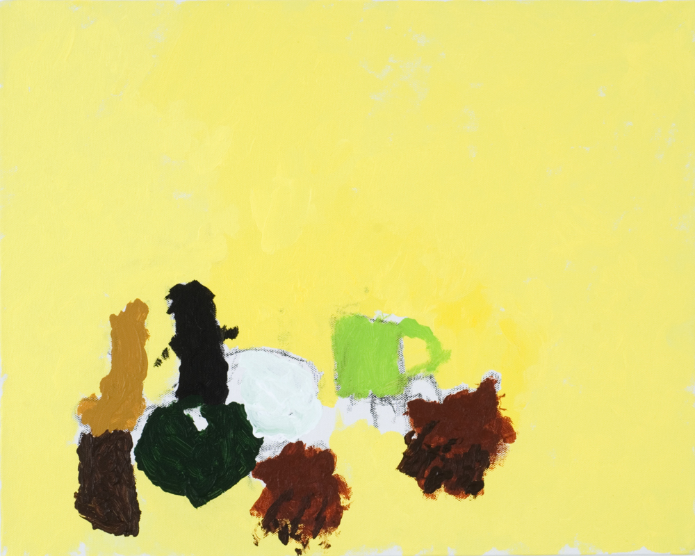 13550 || 3028 || Still Life on Yellow Paper || £250 || 5668