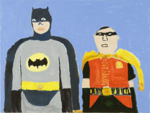 Batman and Robin by John Croft