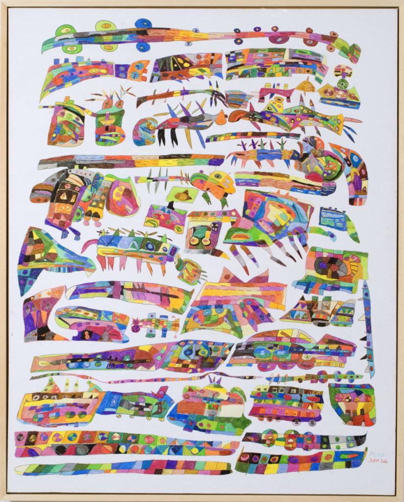 13492 || 3020 || Sea Life || £950 framed