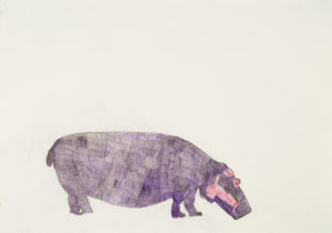 Hippopotamus by Self-Portrait