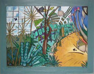 Walk In A Tropical Garden by Gerald Shepherd