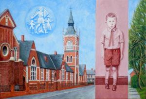 Holme Hill Primary School by john a walker
