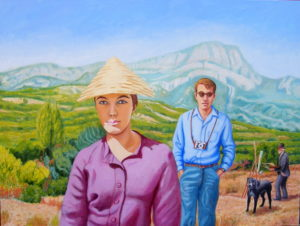 In Provence they encountered the ghost of Cezanne by john a walker
