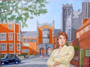 Pauline at King's College by john a walker