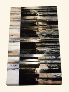 Cornish Breakers Canvas Print by ruffrootcreative
