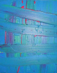 Wire Blue 1 by Emma Donaldson