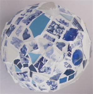 Wedgewood Blue Sphere by vanessa clark