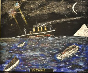 Titanic by William  James West