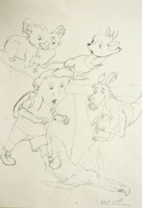 Cartoon Characters from the Rescuers by Butterfly