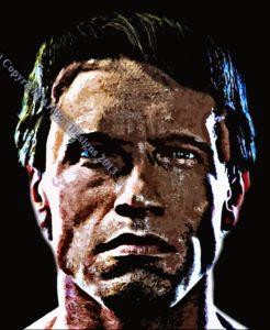 Arnold Schwarzenegger by Aspy79