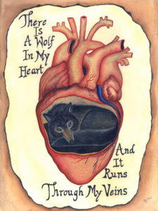 There Is A Wolf In My Heart (and it runs through my veins). by Elle Isolde