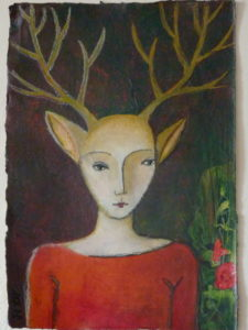 Woodland Girl by Birdie