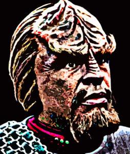 Everbody's favourite Klingon by Aspy79