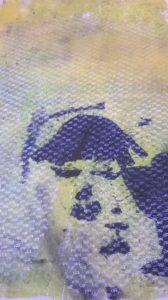 Lace Curtain Drinker by Jacky G