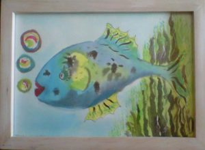 Rainbow fish by M.A.