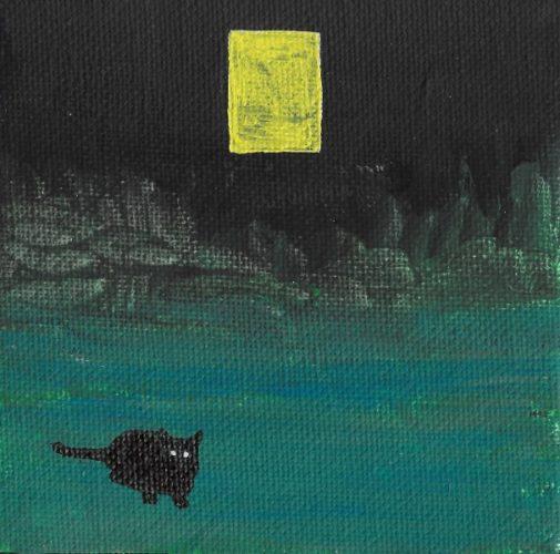 Nice kitty cat by Lucy Mazhari