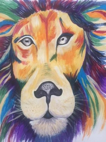 The Lion by Danielle Hammond