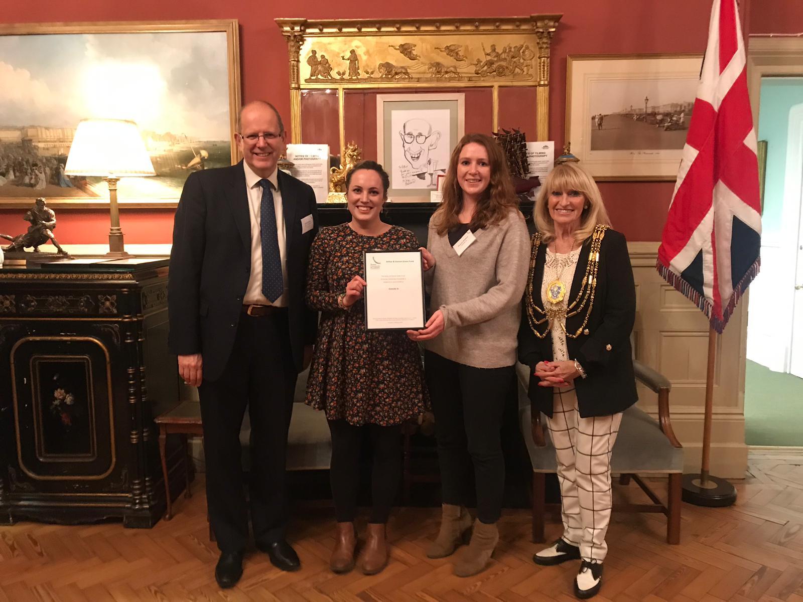 Sussex-Community-Foundation-certificate-presentation-Feb-2019