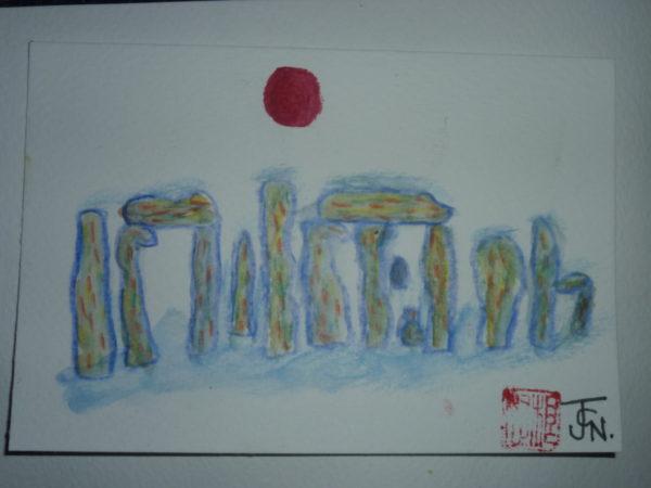 stonehenge by John Nugent