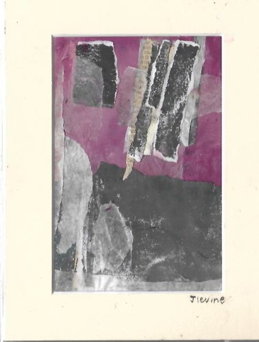 Mixed media collage 30 by jess levine