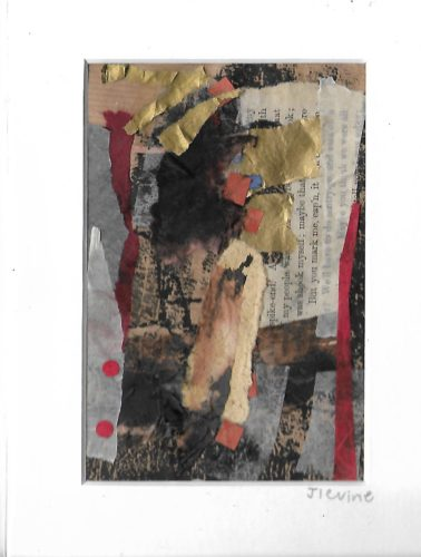 Mixed media collage 31 by jess levine