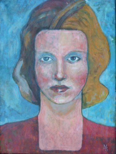 Sad Lady by martyn sier