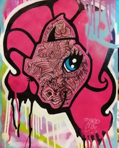 My Little Urban Pony 1 by David Kinder