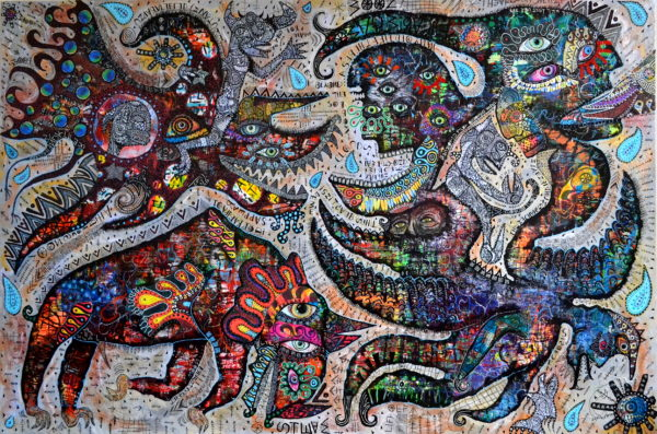 an-infraction-beyond-the-sorrow-clouds by greg bromley