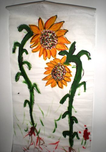 sunflowers by John Nugent