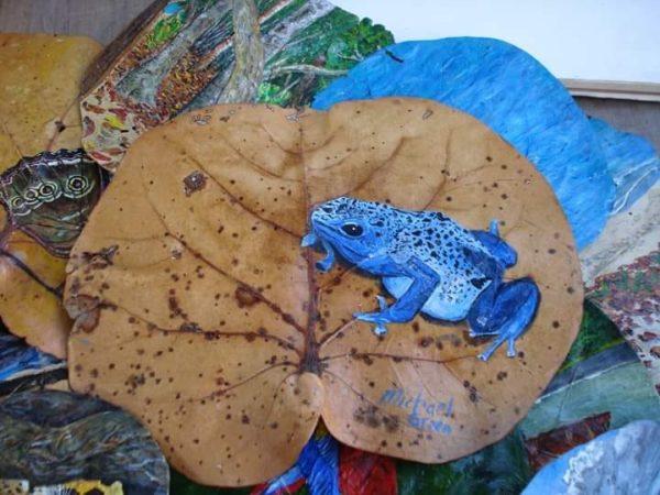 blue-frog-painting.jpg by artforasustainableworld
