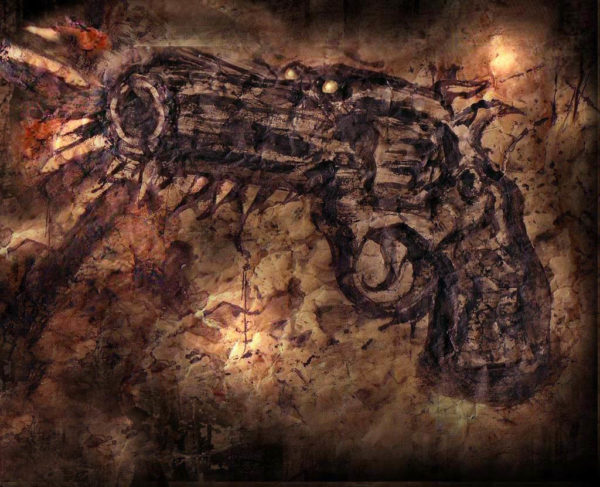 Dog Gun by paul jacques