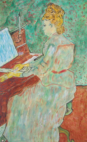 Van Gogh copy by John Young