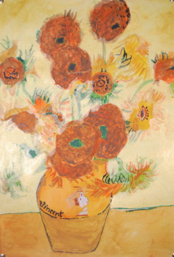 Van Gogh Sunflowers by John Young