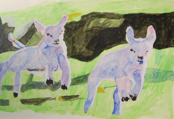 Lambs by John Young