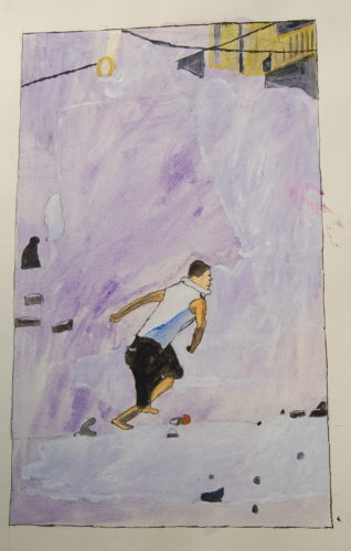 Man Running by John Young